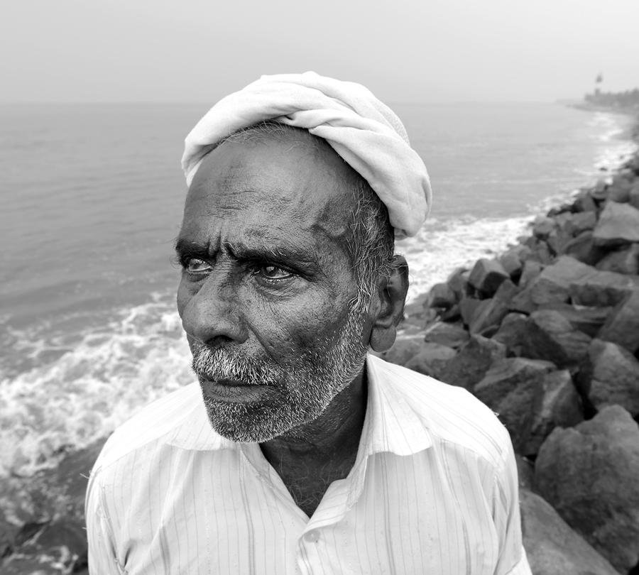 KR SUNIL, The Seafarers of Malabar/ Malabarskí námorníci (2018), Portrét Ibrahima