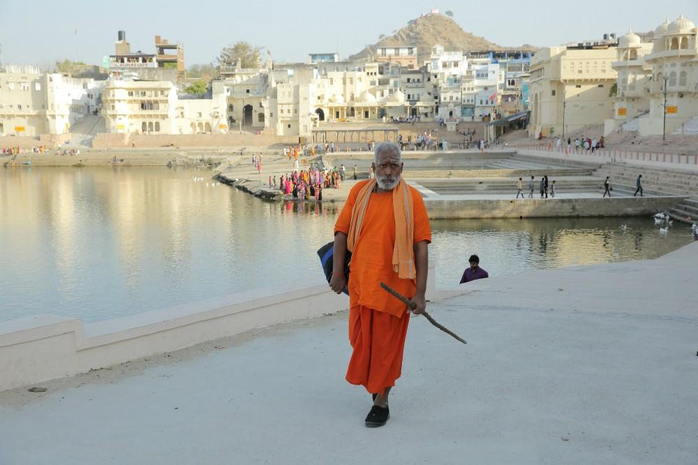INDIA - MAGICKÝ RAJASTHAN <br> DEŇ 7: PUSHKAR <br> - Návšteva Brahmovho chrámu <br> - Posvätné jazero <br>