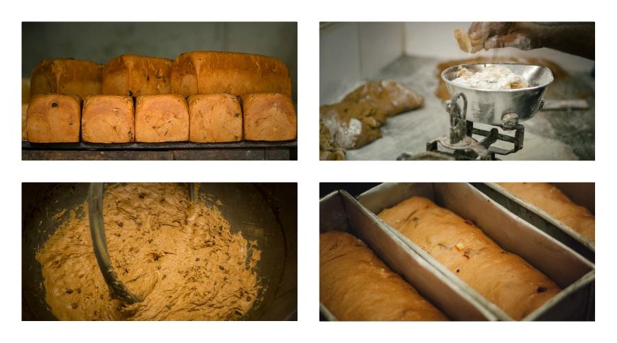 BREUDHER - PŘÍBĚH HOLANDSKÉHO CHLEBA<br>Fotografie výroby těsta a pečení breudheru v pekárně Quality Bakery a v hotelu Elite.