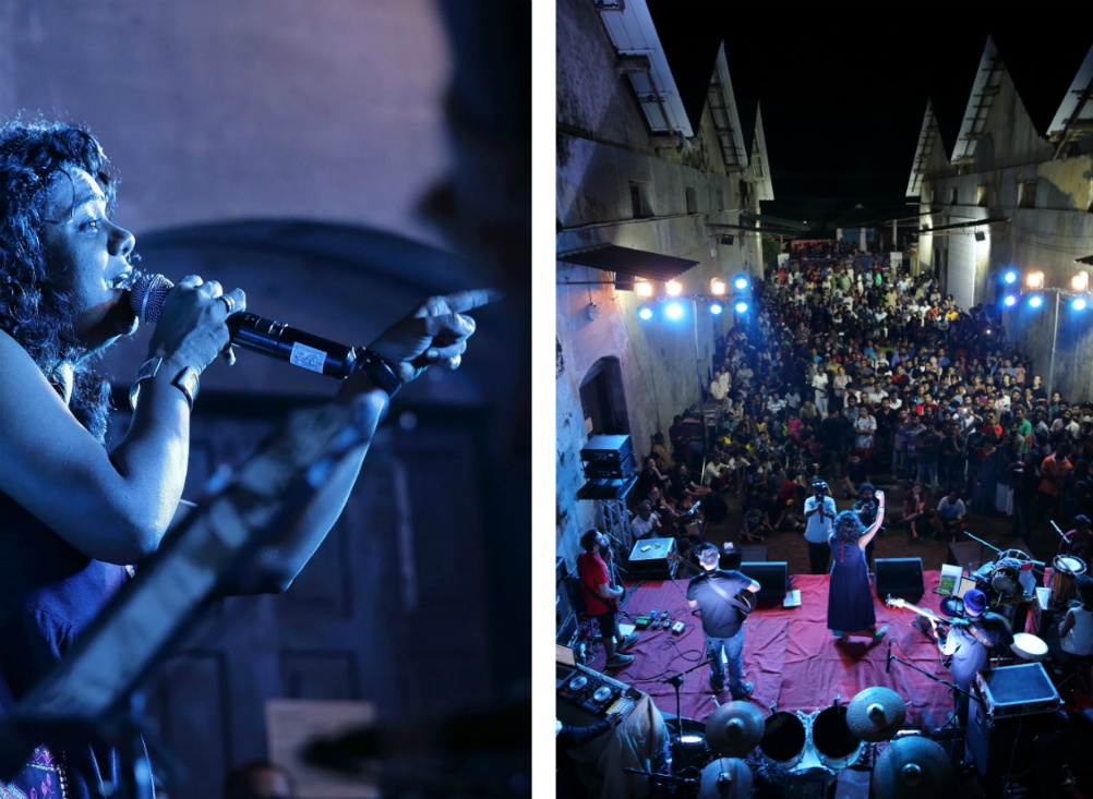RESMI SATEESH, Koncert v URU Art Harbour (2018)