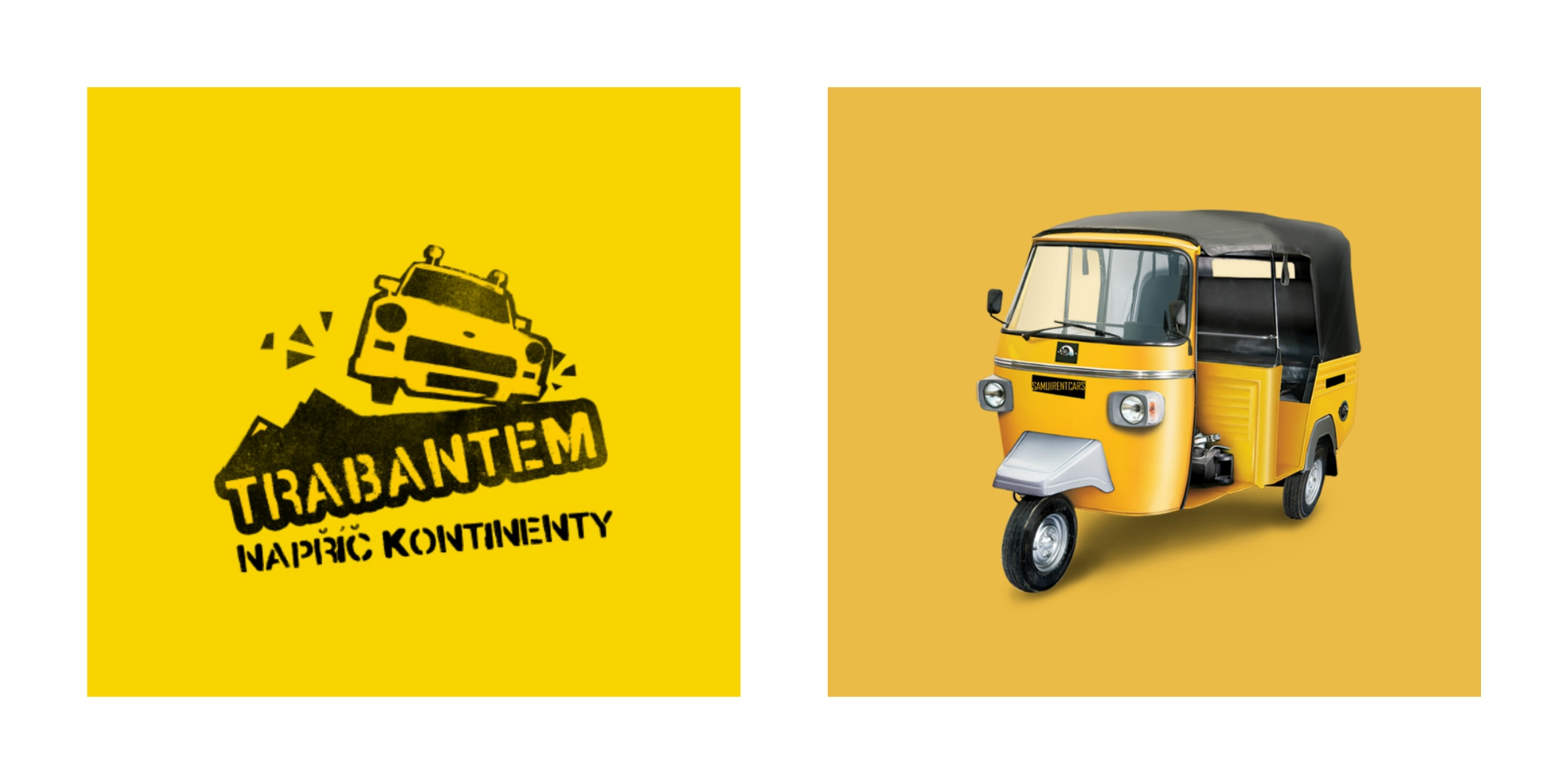 Žlá je dobrá! Ale ktorá?! Trabantia (Traffic Yellow #F7B500) alebo rikshistická (Maximum Yellow Red #ECB946)?