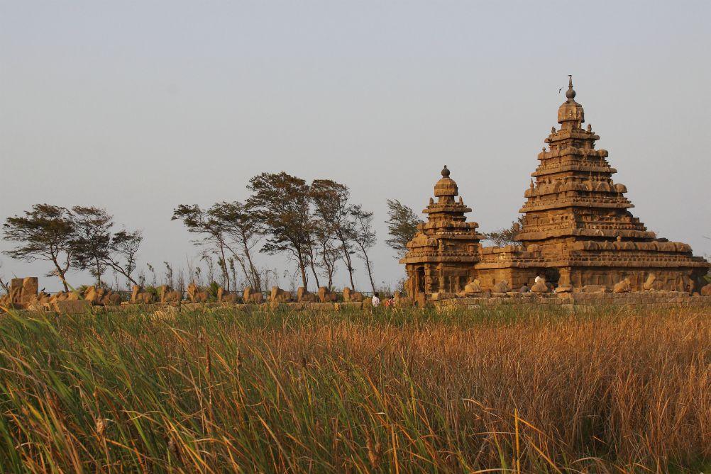 SPIRITUÁLNÁ JUŽNÁ INDIA<br> DEŇ 3: MAHABALIPURAM<br> - Prehliadka archeologického chrámoveho komplexu<br>