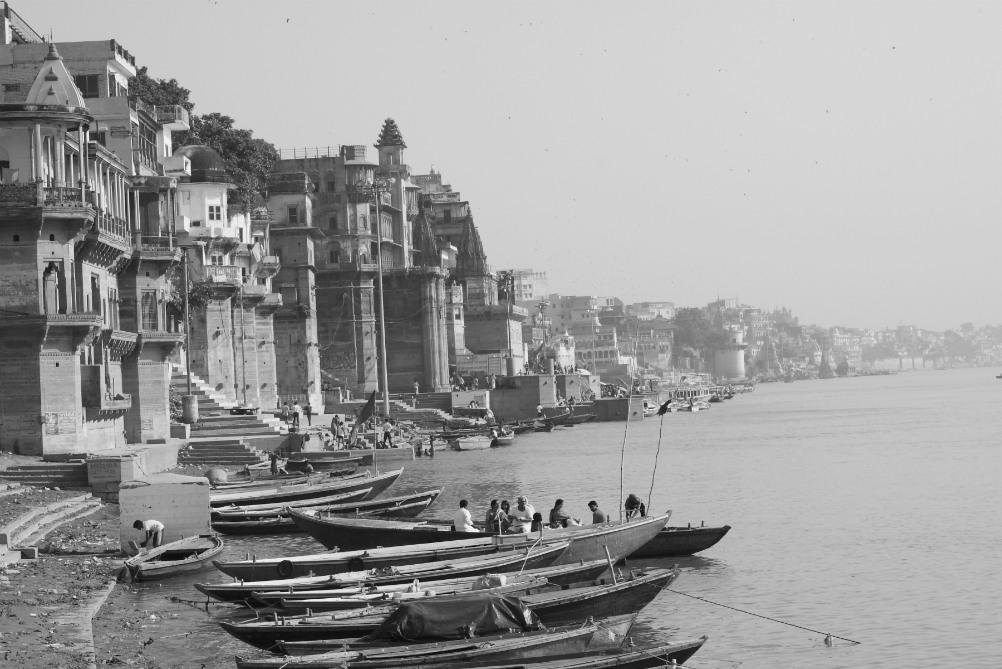 Mystické Varanasi, o kterém Mark Twain řekl, že je starší než historie, tradice či legenda.